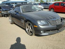 chrysler crossfire srt6. salvage chrysler crossfire srt6 srt6